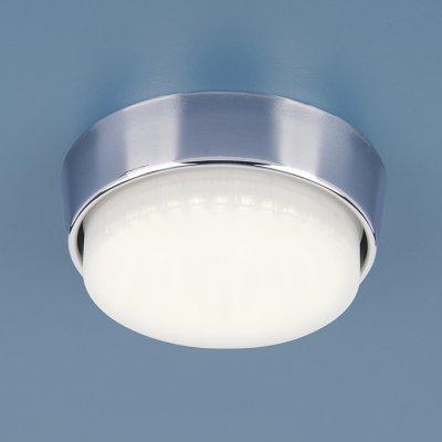 1037 GX53 CH хром Электростандарт Накладной точечный светильниккруглые светильники<br>Цоколь: GX53 Размер: ? 90 x 22 мм<br>Соединительный провод и клеммы в комплекте. Лампа не входит в комплект светильника.<br><br>Тип цоколя: GX53<br>Диаметр, мм мм: 90<br>Высота, мм: 22