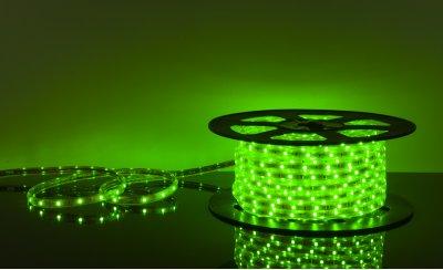 LSTR002 220V 7,2W IP65 зеленый Электростандарт Светодиодная лентаВлагозащищенная<br>Технические характеристики: Мощность: 7,2 Вт/м Световой поток: 210 лм/м Питание: DC 220 В Длина: 50 м Кратность резки: 1 метр Сечение: 12 х 6 мм Количество светодиодов: 30 шт./м Пылевлагозащищенность: IР65 Рабочая температура: –25°… +60°C<br>Комплектация: сетевой шнур - 1 шт., заглушка - 1 шт., крепеж - 100 шт., инструкция - 5 шт.<br>