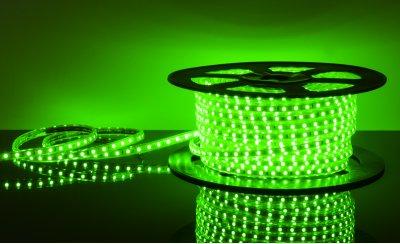 LSTR003 220V 14,4W IP65 зеленый Электростандарт Светодиодная лентаВлагозащищенная<br>Технические характеристики: Мощность: 14,4 Вт/м Световой поток: 210 лм/м Питание: DC 220 В Длина: 50 м Кратность резки: 1 метр Сечение: 12 х 6 мм Количество светодиодов: 60 шт./м Пылевлагозащищенность: IР65 Рабочая температура: –25°… +60°C<br>Комплектация: сетевой шнур - 1 шт., заглушка - 1 шт., крепеж - 100 шт., инструкция - 5 шт.<br>