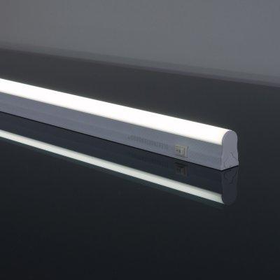 Led Stick Т5 60 см 48led 9W 6500К Электростандарт Светодиодный светильникЛинейные светодиодные светильники<br>Мощность: 9 Вт Яркость: 720 лм Свет: белый 6500K Угол рассеивания: 130° Питание: 220 В / 50 Гц Количество светодиодов: 48 шт. Размер: 564 х 22 х 34 мм<br><br>Цветовая t, К: 6500<br>Тип лампы: LED<br>Тип цоколя: LED<br>MAX мощность ламп, Вт: 9