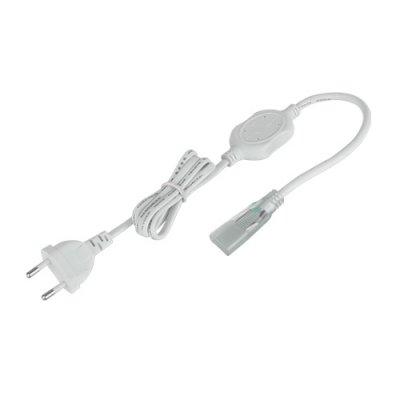 Сетевой шнур для ленты 220V 5050 Электростандарт Аксессуары для светодиодной лентыБлоки питания<br>Упаковка 10 шт.<br>