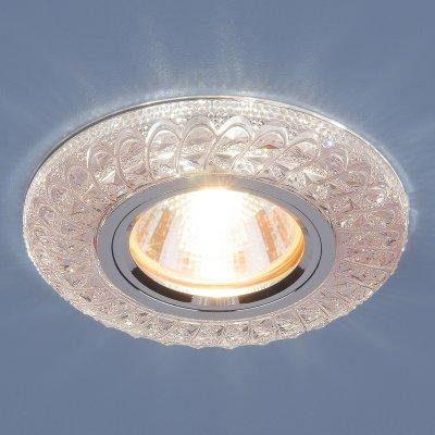 2180 MR16 PK розовый Электростандарт Встраиваемый потолочный светильник со светодиодной подсветкойХрустальные<br>Лампа: MR16, max 50 Вт + LED Мощность LED подсветки: 3 Вт Диаметр: ? 96 мм  Высота внутренней части: 19 мм  Высота внешней части: 11 мм  Монтажное отверстие: ? 60 мм  Гарантия: 2 года<br><br>Тип цоколя: gu5.3<br>Диаметр, мм мм: 96<br>Диаметр врезного отверстия, мм: 60<br>MAX мощность ламп, Вт: 50
