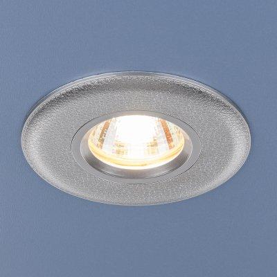 107 MR16 SL серебро Электростандарт Точечный светильникКруглые<br>Лампа: MR16 G5.3 max, 35 Вт Диаметр: ? 95 мм Высота внутренней части: ? 25 мм Высота внешней части: ? 5 мм Монтажное отверстие: ? 60 мм Гарантия: 2 года<br><br>Тип цоколя: gu5.3<br>Диаметр, мм мм: 95<br>Диаметр врезного отверстия, мм: 60<br>MAX мощность ламп, Вт: 35