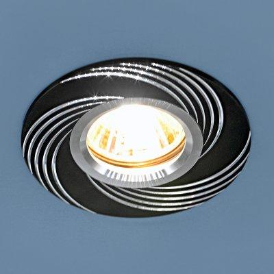 5156 MR16 BK черный Электростандарт Алюминиевый точечный светильникКруглые<br>Лампа: MR16 G5.3 max, 50 Вт Диаметр: ? 95 мм Высота внутренней части: ? 18 мм Высота внешней части: ? 3 мм Монтажное отверстие: ? 60 мм Гарантия: 2 года Корпус из алюминия<br><br>Тип цоколя: gu5.3<br>Диаметр, мм мм: 95<br>Диаметр врезного отверстия, мм: 60<br>MAX мощность ламп, Вт: 50