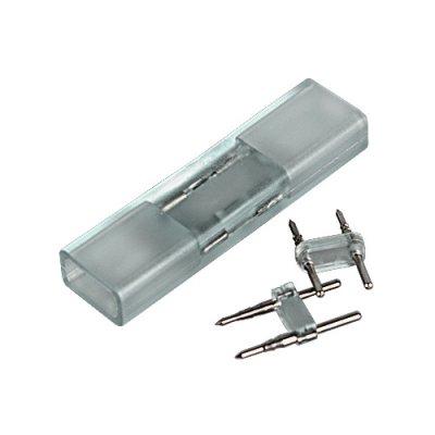 Переходник для ленты 220V 5050 Электростандарт Аксессуары для светодиодной лентыLED-коннекторы<br>Упаковка: 10 шт.<br>
