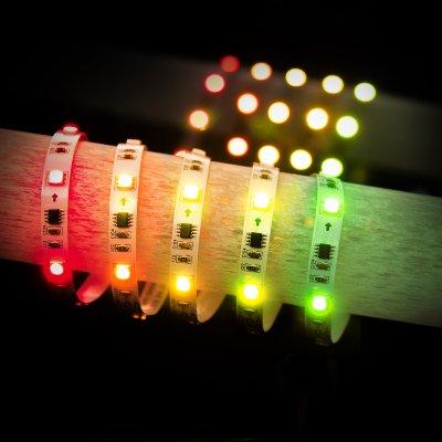 5050 12V 30Led 7,2W RW IP20 Бегущая волна Электростандарт Светодиодная лентаСветодиодная лента 5050<br>Мощность: 7,2 Вт/м Световой поток: 210 лм/м Питание: DC 12 В Количество светодиодов: 30 шт./м Угол рассеивания: 120° Температура эксплуатации: –25° … +55°C Пылевлагозащищенность: IР20 Длина: 5 м<br>