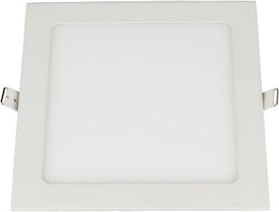 DLS003 18W 4200K Электростандарт Встраиваемый потолочный светодиодный светильникСветодиодные квадратные светильники<br>Мощность: 18 Вт Свет: 4200K Световой поток: 1530 лм Количество светодиодов: 90 шт. SMD Угол рассеивания света: 110° Питание: 100 – 240 В / 50 Гц Срок службы: 50 000 ч Рабочий диапазон температуры: -20 ... +50 °С Диаметр монтажного отверстия: 205 х 205 мм Размер светильника: 225 х 225 x 30 мм Пылевлагозащищенность: IP20<br><br>Цветовая t, К: 4200<br>Тип лампы: LED<br>Ширина, мм: 225<br>Диаметр врезного отверстия, мм: 205 x 205<br>Длина, мм: 225<br>MAX мощность ламп, Вт: 18