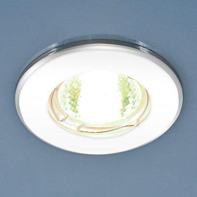 7002 MR16 WH/SL белый/серебро Электростандарт Точечный светильникКруглые<br>Лампа: MR16 G5.3 max 50 Вт Диаметр: ? 80 мм Высота внутренней части: ? 23 мм Высота внешней части: ? 7 мм Монтажное отверстие: ? 55 мм Гарантия: 2 года<br><br>Тип цоколя: gu5.3<br>Диаметр, мм мм: 80<br>Диаметр врезного отверстия, мм: 55<br>MAX мощность ламп, Вт: 50