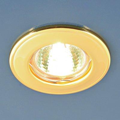 7002 MR16 GD матовое золото Электростандарт Точечный светильникКруглые<br>Лампа: MR16 G5.3 max 50 Вт Диаметр: ? 80 мм Высота внутренней части: ? 23 мм Высота внешней части: ? 7 мм Монтажное отверстие: ? 55 мм Гарантия: 2 года<br><br>Тип цоколя: gu5.3<br>Диаметр, мм мм: 80<br>Диаметр врезного отверстия, мм: 55<br>MAX мощность ламп, Вт: 50