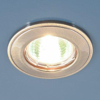 7002 MR16 GAB бронза Электростандарт Точечный светильникКруглые<br>Лампа: MR16 G5.3 max 50 Вт Диаметр: ? 80 мм Высота внутренней части: ? 23 мм Высота внешней части: ? 7 мм Монтажное отверстие: ? 55 мм Гарантия: 2 года<br><br>Тип цоколя: gu5.3<br>Диаметр, мм мм: 80<br>Диаметр врезного отверстия, мм: 55<br>MAX мощность ламп, Вт: 50
