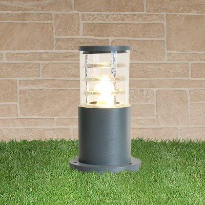 Купить со скидкой Ландшафтный светильник Электростандарт 1508 TECHNO silver серый