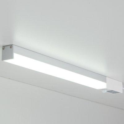 LED Stick LSTS01 5W 4200K Электростандарт Светодиодный светильник с датчиком движенияЛинейные светодиодные светильники<br>Технические характеристики LED Stick Мощность: 5 Вт Яркость: 300 лм Свет: теплый белый 4200K Угол рассеивания: 150° Питание: 220 В / 50 Гц Количество светодиодов: 24 шт. Размер: 300 х 19 х 19 мм<br>Класс энергоэффективности: А. Предназначен для установки внутри помещений.<br>Технические характеристики датчика движения Угол охвата: азимутальный 360°, радиальный 100° Дальность действия: 2 м Таймер отключения: ~ 20 с Допустимая влажность: до 93% RH<br>