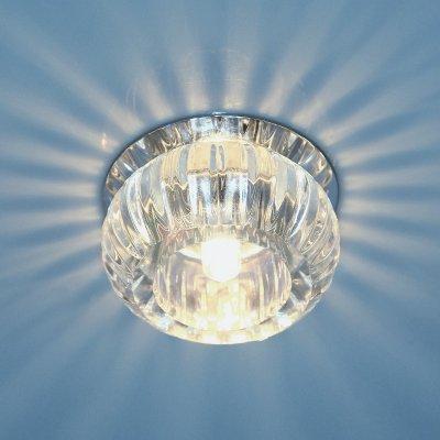 1100 G9 CL прозрачный Электростандарт Точечный светильник со стекломВстраиваемые хрустальные светильники<br>Лампа: G9, max 40 Вт Диаметр: ? 80 мм Высота внутренней части: ? 22 мм Высота внешней части: ? 40 мм Монтажное отверстие: ? 55 мм Гарантия: 2 года<br><br>Тип цоколя: G9<br>Диаметр, мм мм: 80<br>Диаметр врезного отверстия, мм: 55<br>MAX мощность ламп, Вт: 40