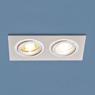 1051/2 WH белый Электростандарт Точечный светильникДлинные<br>Лампа: MR16 G5.3 max 50 Вт Размер: 93 х 174 мм Высота внутренней части: ? 25 мм Высота внешней части: ? 3 мм Монтажное отверстие: 75 х 160 мм Гарантия: 2 года Светильник имеет поворотный механизм Корпус из алюминия<br><br>Тип цоколя: gu5.3<br>Ширина, мм: 93<br>Диаметр врезного отверстия, мм: 75 х 160<br>Длина, мм: 174<br>MAX мощность ламп, Вт: 50