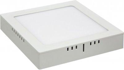DLS020 24W 4200K Электростандарт Накладной потолочный светодиодный светильникСветодиодные квадратные светильники<br>Мощность: 24 Вт Свет: 4200K Световой поток: 2040 лм Количество светодиодов: 120 шт. SMD Угол рассеивания света: 120° Питание: 180 – 240 В / 50 Гц Срок службы: 50 000 ч Рабочий диапазон температуры: -20 ... +60 °С Диаметр монтажного отверстия: 275 х 275 мм Размер светильника: 295 х 295 x 38 мм Пылевлагозащищенность: IP22<br><br>Цветовая t, К: 4200<br>Тип лампы: LED<br>Ширина, мм: 295<br>Диаметр врезного отверстия, мм: 275 x 275<br>Длина, мм: 295<br>MAX мощность ламп, Вт: 24