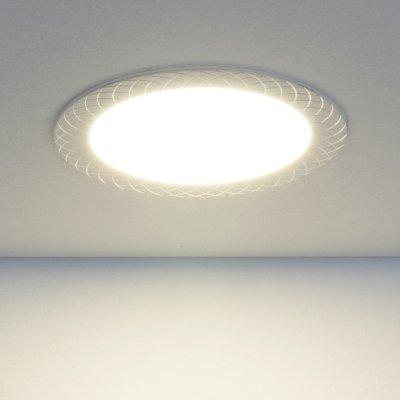 Встраиваемый потолочный светодиодный светильник Elektrostandard DLR005 12W 4200K WH белыйСветодиодные круглые светильники<br>Мощность: 12 Вт Световой поток: 1020 лм Свет: 4200 K теплый белый Угол рассеивания света: 110° Кол-во светодиодов: 60 шт., SMD Пылевлагозащищенность: IP20 Питание: 100 – 250 В / 50 Гц Срок службы: 50 000 ч Рабочая температура: -20 ... +50 °С Монтажное отверстие: ? 155 мм Размер: ? 23 х 170 мм<br><br>Цветовая t, К: 4200<br>Тип лампы: LED<br>Диаметр, мм мм: 170<br>Диаметр врезного отверстия, мм: 155<br>MAX мощность ламп, Вт: 12