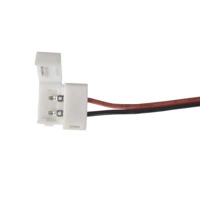 Коннектор для одноцветной светодиодной ленты 5050 гибкий одност. Электростандарт Аксессуары для светодиодной лентыLED-коннекторы<br>Упаковка 10 шт.<br>
