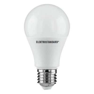 Classic LED D 12W 4200K E27 Электростандарт Лампа светодиоднаяСтандартный вид<br>Мощность: 12 Вт Цвет: 4200K Цоколь: E27 Световой поток: 1020 лм Размер: ? 60 x 120 мм Питание: 220 В / 50 Гц Ресурс: 50 000 ч<br><br>Цветовая t, К: CW - холодный белый 4000 К (4200)<br>Тип лампы: LED<br>Тип цоколя: E27<br>MAX мощность ламп, Вт: 12