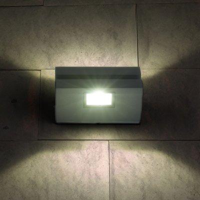 1611 Techno LED Nerey алмазный серый Электростандарт Настенный светильникНастенные<br>Мощность: 6 Вт Световой поток: 510 лм Свет: 6500 К холодный белый Источник света: 2 SMD светодиода Срок службы светодиодов: 50 000 ч Пылевлагозащищенность: IP54 Питание: 220 В, 50 Гц Рабочая температура: -20° ... +40° С Материал корпуса: Алюминиевый сплав Размеры: 128 х 73 х 50 мм Гарантия: 3 года<br><br>Цветовая t, К: 6500<br>Тип лампы: LED<br>MAX мощность ламп, Вт: 6