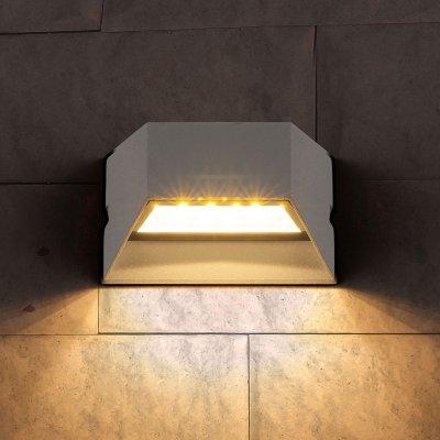 1614 Techno LED Ofion алмазный серый Электростандарт Настенный светильникНастенные<br>Мощность: 6 Вт Световой поток: 510 лм Свет: 4200 К белый Источник света: 12 SMD светодиодов Срок службы светодиодов: 50 000 ч Пылевлагозащищенность: IP54 Питание: 220 В, 50 Гц Рабочая температура: -20° ... +40° С Материал корпуса: Алюминиевый сплав Размеры: 150 х 60 х 100 мм Гарантия: 3 года<br><br>Цветовая t, К: 4200<br>Тип лампы: LED<br>MAX мощность ламп, Вт: 6