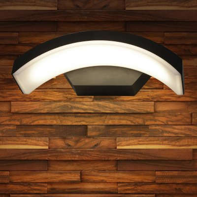 Настенный светильник Elektrostandard TECHNO 1671 LED черныйУличные настенные светильники<br>Мощность: 6 Вт Световой поток: 320лм Пылевлагозащита: IP54 Срок службы светодиодов: 50 000 ч Гарантия: 3 года Свет: 4200 K белый Источник света: 72 светодиода SMD Питание 220 В, 50 Гц Рабочая температура: -20° ... +40° С Размеры: 275 х 112 x 82 мм<br><br>Цветовая t, К: 4200<br>Тип лампы: LED<br>MAX мощность ламп, Вт: 6