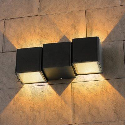 Настенный светильник Elektrostandard TECHNO 1694 LED черныйуличные настенные светильники<br>Мощность: 6 Вт Световой поток: 102 лм Пылевлагозащита: IP54 Срок службы светодиодов: 50 000 ч Гарантия: 3 года Свет: 4200 K белый Источник света: 2 светодиода XTE Питание 220 В, 50 Гц Рабочая температура: -20° ... +40° С Размеры: 73 х 61 х 185 мм<br><br>Цветовая t, К: 4200<br>Тип лампы: LED<br>MAX мощность ламп, Вт: 6