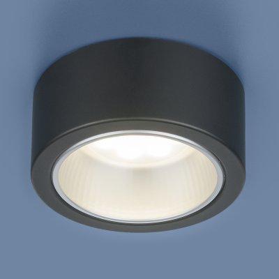 1070 GX53 BK черный Электростандарт Накладной точечный светильникНакладные точечные<br>Лампа: GX53, max 13 Вт* Размер: ? 135  х 60 мм Монтаж: накладной Гарантия: 2 года * Лампа в комплект не входит<br><br>S освещ. до, м2: 2<br>Тип цоколя: GX53<br>Диаметр, мм мм: 135<br>Высота, мм: 60