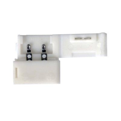 Аксессуары для светодиодной ленты Электростандарт LED 1A Коннектор для одноцветной светодиодной ленты 3528 жесткий LED 1A Коннектор для одноцветной светодиодной ленты 3528, 2835 жесткий фото
