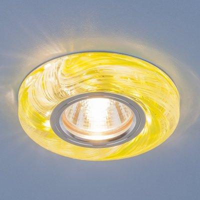2191 MR16 CL/GR прозрачный/зеленый Электростандарт Точечный светодиодный светильникКруглые встраиваемые светильники<br>Лампа: MR16 G5.3 max 35 Вт Размер: ?100 мм Высота внутренней части: ? 13 мм Высота внешней части: ? 17 мм Монтажное отверстие:  ?65 мм Гарантия: 2 года<br><br>Тип цоколя: gu5.3<br>Диаметр, мм мм: 100<br>Диаметр врезного отверстия, мм: 65<br>MAX мощность ламп, Вт: 35