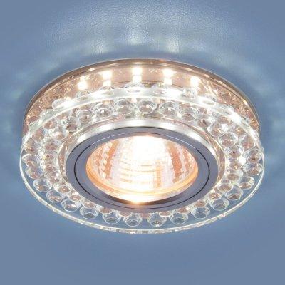 Купить Точечный светодиодный светильник Электростандарт 8381 MR16 CL/GC прозрачный/тонированный, Китай, алюминиевый сплав