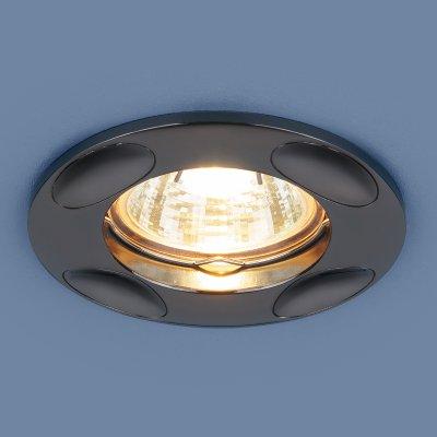 7008 MR16 GR графит Электростандарт Точечный светильникКруглые встраиваемые светильники<br>Лампа: MR16, max 50 Вт Диаметр: ? 95 мм Высота внутренней части: 24 мм Высота внешней части: 3 мм Монтажное отверстие: ? 65 мм Гарантия: 2 года<br><br>Тип цоколя: gu5.3<br>Диаметр, мм мм: 95<br>Диаметр врезного отверстия, мм: 65<br>MAX мощность ламп, Вт: 50