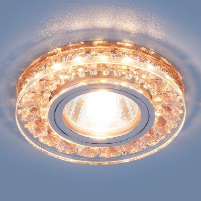 2192 MR16 GD шампань Электростандарт Точечный светодиодный светильникКруглые<br>Лампа: MR16, max 35 Вт + LED Мощность LED подсветки: 3 Вт Диаметр: ? 95 мм Высота внутренней части: 7 мм Высота внешней части: 15 мм Монтажное отверстие: ? 60 мм Гарантия: 2 года<br><br>Тип цоколя: gu5.3<br>Диаметр, мм мм: 95<br>Диаметр врезного отверстия, мм: 60<br>MAX мощность ламп, Вт: 35