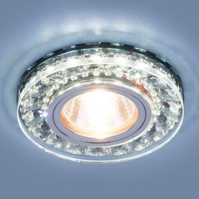 2192 MR16 SBK дымчатый Электростандарт Точечный светодиодный светильникКруглые встраиваемые светильники<br>Лампа: MR16, max 35 Вт + LED Мощность LED подсветки: 3 Вт Диаметр: ? 95 мм Высота внутренней части: 7 мм Высота внешней части: 15 мм Монтажное отверстие: ? 60 мм Гарантия: 2 года<br><br>Тип цоколя: gu5.3<br>Диаметр, мм мм: 95<br>Диаметр врезного отверстия, мм: 60<br>MAX мощность ламп, Вт: 35