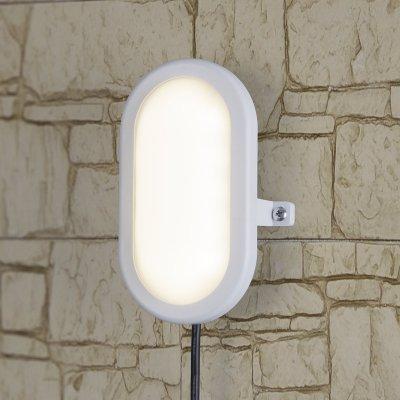 LTB0102D 17 см 6W Электростандарт Пылевлагозащищенный светодиодный светильникНастенные<br>Мощность: 6 Вт Световой поток: 420 лм Cвет: белый 4000 К Срок службы светодиодов: 50 000 ч Источник света: 12 светодиодов  Угол свечения: 110° Ударопрочность: 0,7 НМ Размер: 168 x 117 x 71  мм Питание: 220 В, 50 Гц Пылевлагозащищенность: IР54 Температура эксплуатации: –20° ... +40° С Материал корпуса: пластик Материал рассеивателя: акрил Гарантия: 3 года<br>
