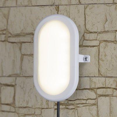 LTB0102D 22 см 12W Электростандарт Пылевлагозащищенный светодиодный светильникНастенные<br>Мощность: 12 Вт Световой поток: 840 лм Cвет: белый 4000 К Срок службы светодиодов: 50 000 ч Источник света: 26 светодиодов  Угол свечения: 110° Ударопрочность: 0,7 НМ Размер: 216 x 143 x 78,5 мм Питание: 220 В, 50 Гц Пылевлагозащищенность: IР54 Температура эксплуатации: –20° ... +40° С Материал корпуса: пластик Материал рассеивателя: акрил Гарантия: 3 года<br><br>Цветовая t, К: 4000<br>Тип лампы: LED<br>MAX мощность ламп, Вт: 12