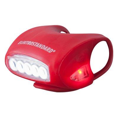 Фонарь светодиодный Электростандарт FLB01-06WВелосипедные фонари<br>