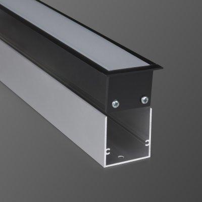 Линейный светодиодный светильник Электростандарт LS-03-128-21-3000-MB 128см 25W 3000К черный матовый фото