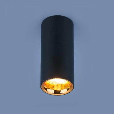 Купить Накладной потолочный светодиодный светильник DLR030 12W 4200K черный матовый/золото Электростандарт, Китай