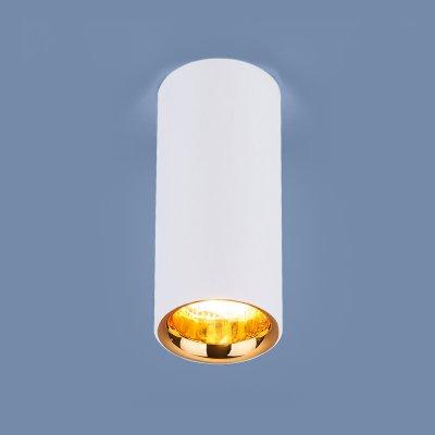 Купить Накладной потолочный светодиодный светильник DLR030 12W 4200K белый матовый/золото Электростандарт, Китай