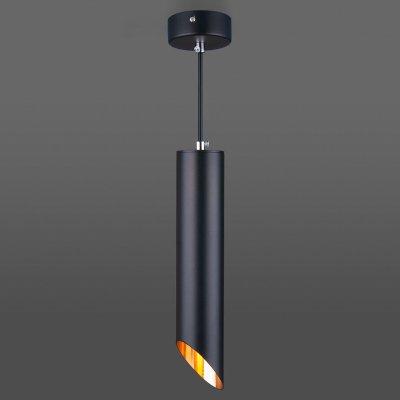 Светильник Электростандарт 7011 MR16 BK/GD черный/золотоодиночные подвесные светильники<br>