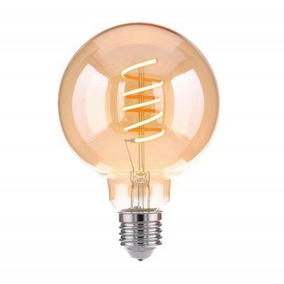 Светильник Электростандарт Classic FD 8W 3300K E27 (G95 спираль тонированный), Classic FD 8W 3300K E27 (G95 спираль тонированный)