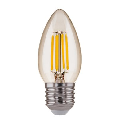 Лампа светодиодная свеча Электростандарт CD F 7W 4200K E27 фото