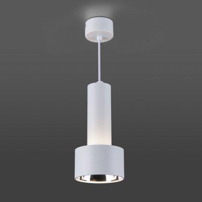 Светильник Электростандарт DLR033 9W 4200K 3300 белый/хром фото