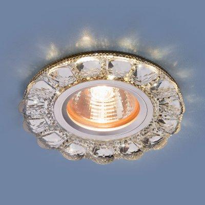 Светильник Электростандарт 2218 MR16 CL прозрачныйвстраиваемые светильники стекло<br>