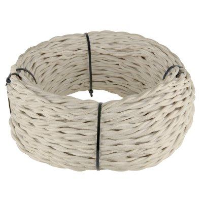 Ретро кабель витой 3х1, 5 (песочный) Ретро кабель витой 3х1, 5 (песочный) Werkel Ретро кабель витой 3х1, 5 песочный фото