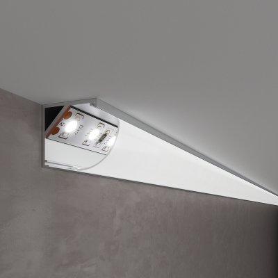 LL-2-ALP008 Угловой алюминиевый профиль для LED ленты (под ленту до 10mm) Электростандарт фото