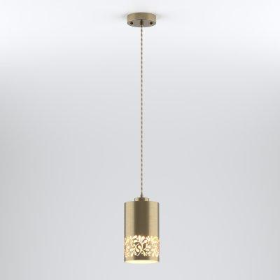 Светильник подвесной Евросвет 50071/1 античная бронза фото