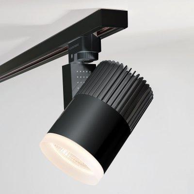 Трековый светильник Accord Черный 30W 4200K (LTB44) трехфазный Электростандарт фото