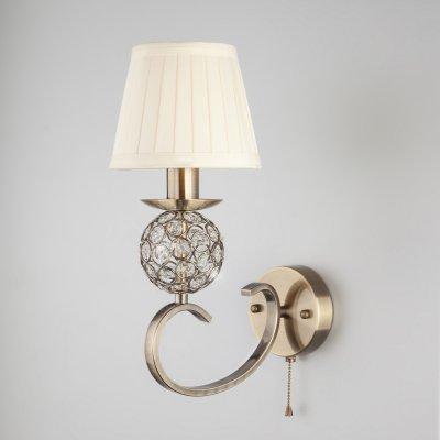 Светильник бра Евросвет 60089/1 античная бронза фото