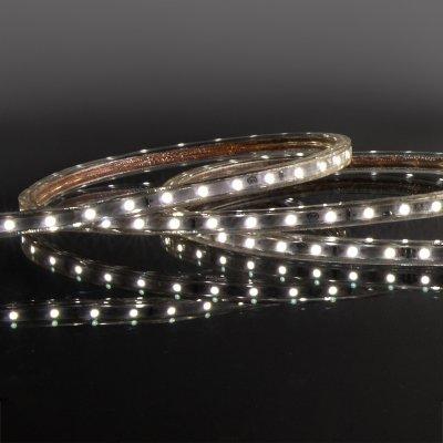 Комплект светодиодной ленты белой 10 м 4,8 Вт/м 60 LED 2835 IP65 LS004 220V фото